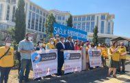 Şişli Etfal Dayanışması 30 Bin İmzayla Sağlık Bakanlığının Kapısındaydı  'ŞİŞLİ ETFAL YENİLENSİN, YERİNDE KALSIN'