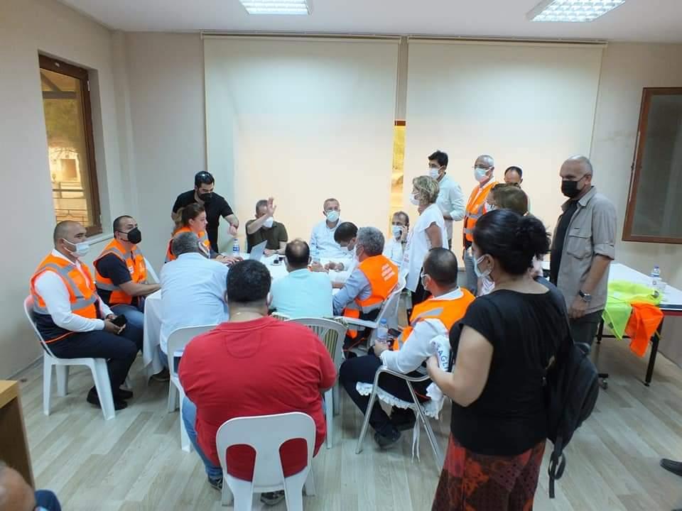 Antalya Şubemizin Süren Yangınlarla İlgili Değerlendirmesi