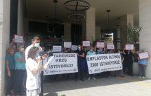 İstanbul Şişli Şubemiz Taksim Eğitim ve Araştırma Hastanesi İşyeri Temsilciliğimiz'den Maaş Zamlarına İlişkin Basın Açıklaması
