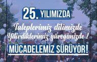 Sağlık ve Sosyal Hizmet Emekçilerinin Hak Mücadelesinin Yanı Sıra Emek, Barış ve Demokrasi Mücadelesini de Sürdüren SES'imiz 25 Yaşında