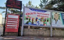 Sivas'ta TİS taleplerimizle Bilbordlardan SES'leniyoruz