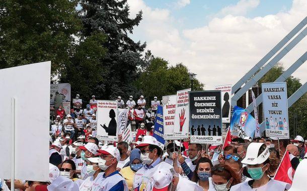 ASM Emekçileri Ankara'dan Haykırdı: Ceza Sözleşmesini Kabul Etmiyoruz
