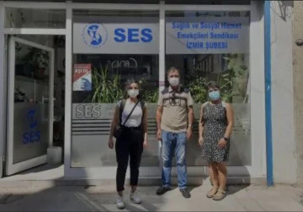 Dokuz Eylül Üniversitesi Hastanesi'nde Görev Yapan İş Yeri Temsilcilerimiz Günseli Uğur ve Arzu Sert Hakkındaki Uzaklaştırma Kararı Kaldırıldı