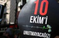 KESK–DİSK-TMMOB–TTB–10 Ekim Barış Derneği: 10 Ekim Katliamı'nı Unutmayacağız, Unutturmayacağız!