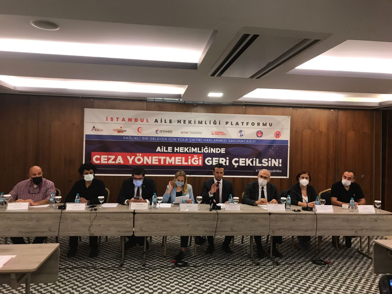 İstanbul Aile Hekimliği Platformu Kuruluşunu ve Eylem Takvimini Açıkladı