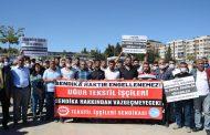 Şanlıurfa Şubemiz Uğur Tekstil İşçilerine Destek Açıklamasına Katıldı